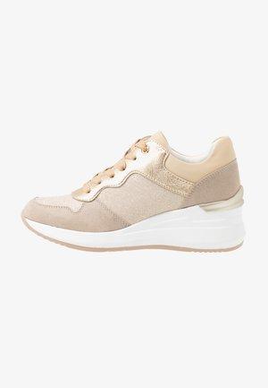 Sneakers laag - beige/gold