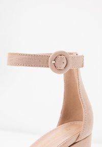 Tata Italia - Sandaler med høye hæler - nude - 2