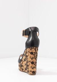 Tata Italia - Sandály na vysokém podpatku - black - 5
