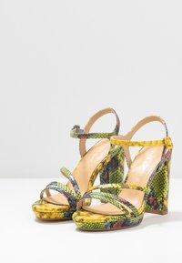 Tata Italia - Sandalen met hoge hak - yellow/green - 4