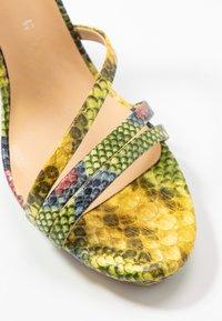 Tata Italia - Sandalen met hoge hak - yellow/green - 2