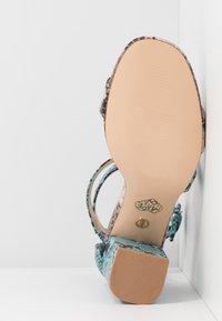 Tata Italia - Sandalen met hoge hak - pink/blue - 6