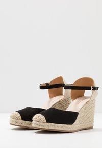 Tata Italia - Sandály na vysokém podpatku - black - 4