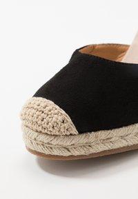 Tata Italia - Sandály na vysokém podpatku - black - 2