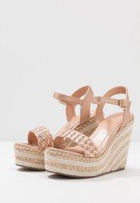 Tata Italia - Korolliset sandaalit - rosegold - 4