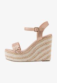 Tata Italia - Korolliset sandaalit - rosegold - 1