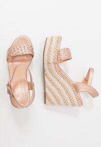 Tata Italia - Korolliset sandaalit - rosegold - 3