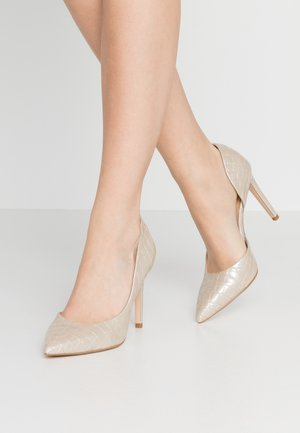 High heels - light gold