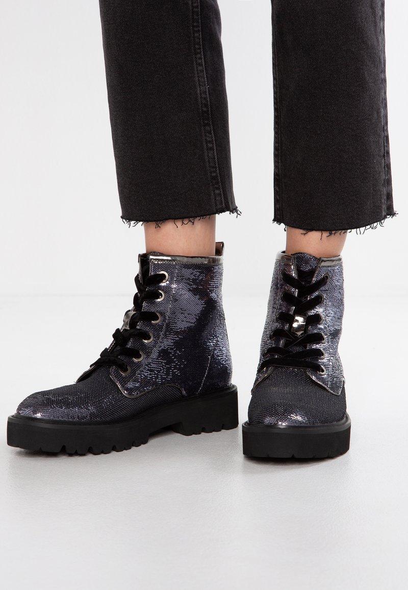Tata Italia - Platform ankle boots - pewter