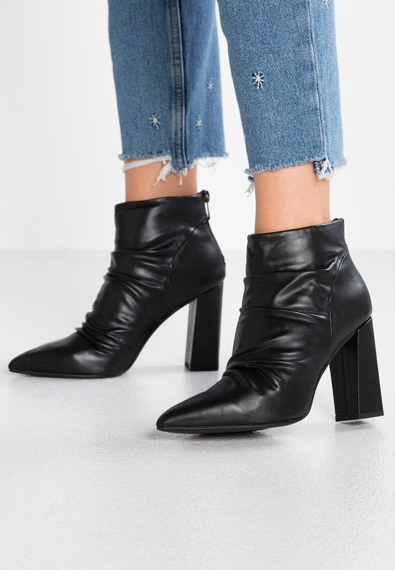 Tata Italia - High heeled ankle boots - black