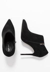 Tata Italia - Kotníková obuv na vysokém podpatku - black - 3