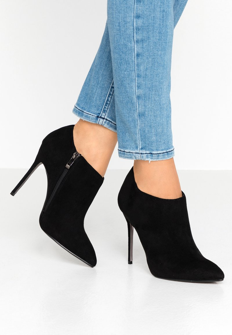 Tata Italia - Kotníková obuv na vysokém podpatku - black