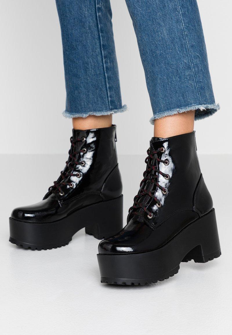 Tata Italia - High Heel Stiefelette - black