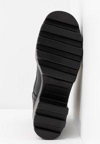 Tata Italia - Kotníkové boty na platformě - black - 6