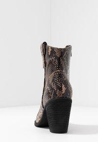 Tata Italia - Kovbojské/motorkářské boty - brown - 5