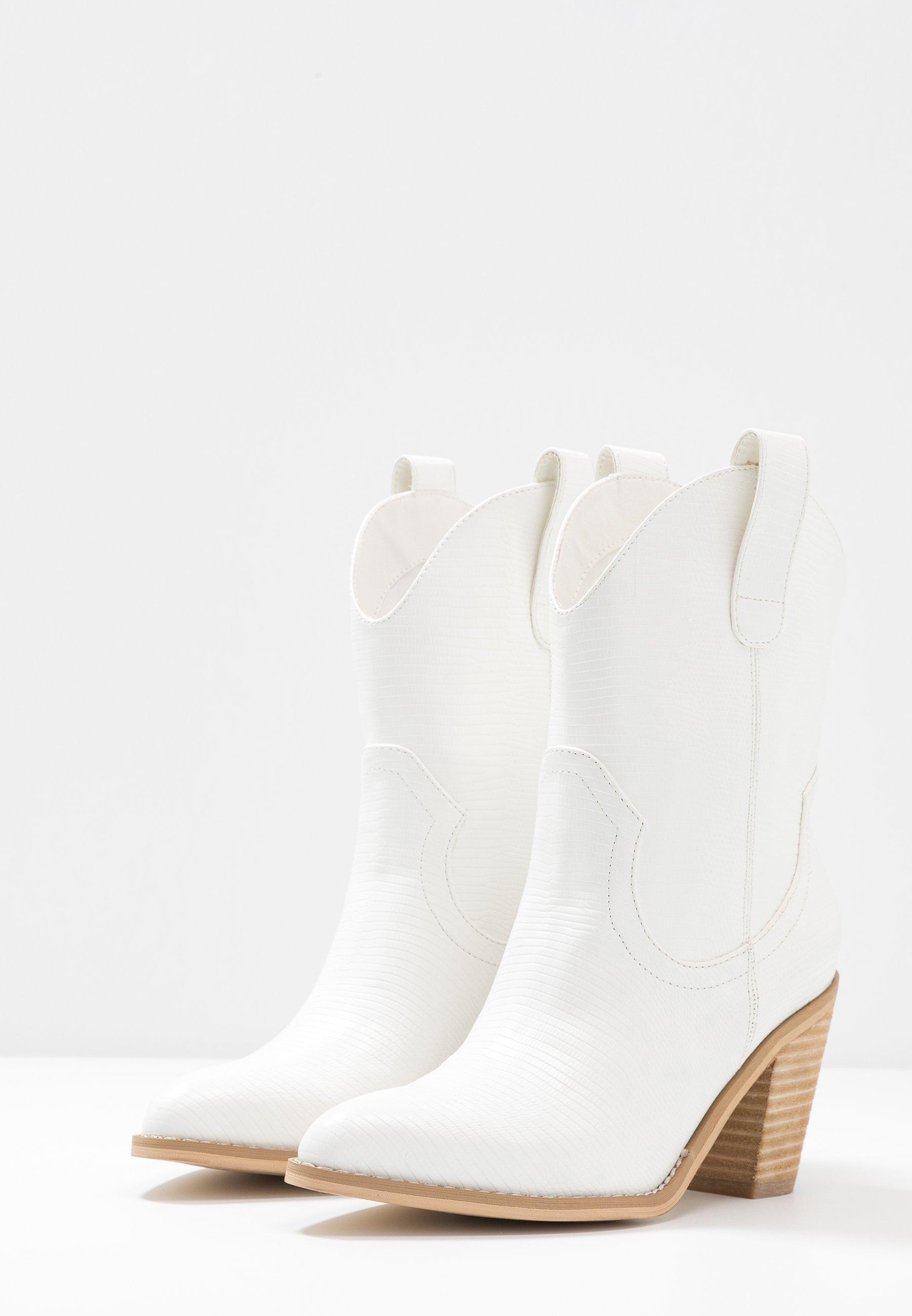 Tata Italia Cowboystøvletter - offwhite