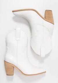 Tata Italia - Kovbojské/motorkářské boty - offwhite - 3