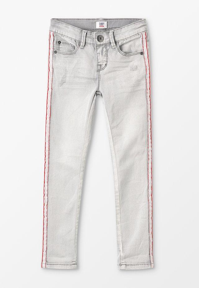 PEARL - Jeans Skinny Fit - denim grey