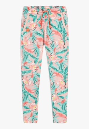 LOUKA - Tracksuit bottoms - chintz rose