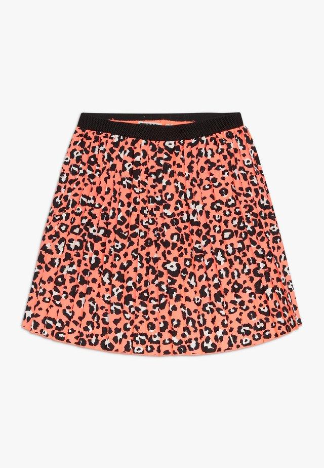SHADA - A-line skirt - fiery coral