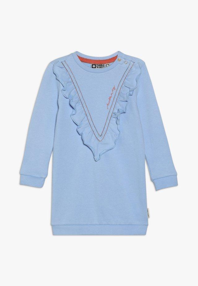MESSA - Korte jurk - placid blue