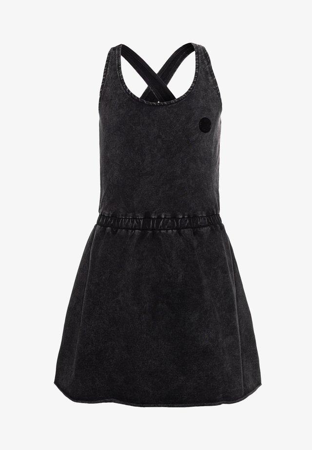 SEVGI - Korte jurk - deep black