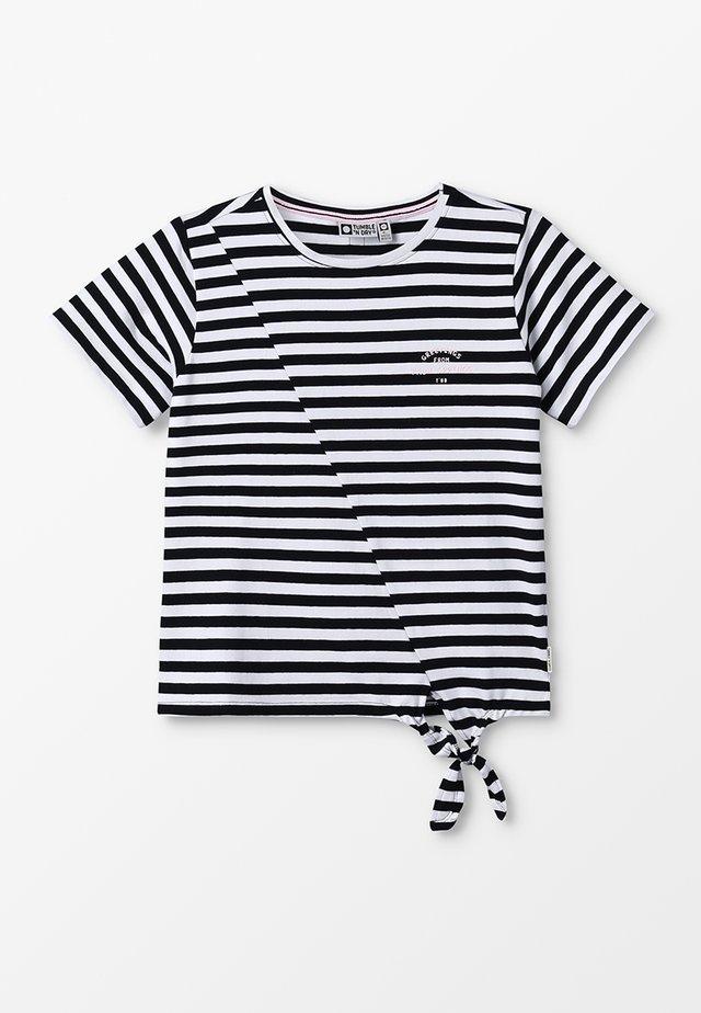 BABEAU - T-shirt print - black/black