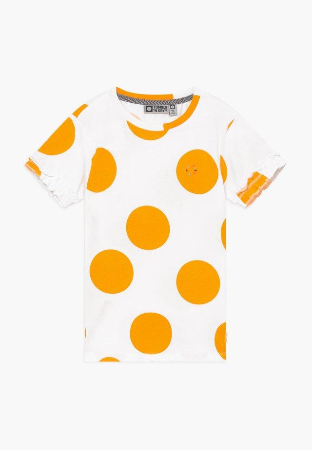 LIDA - T-shirt print - paper white