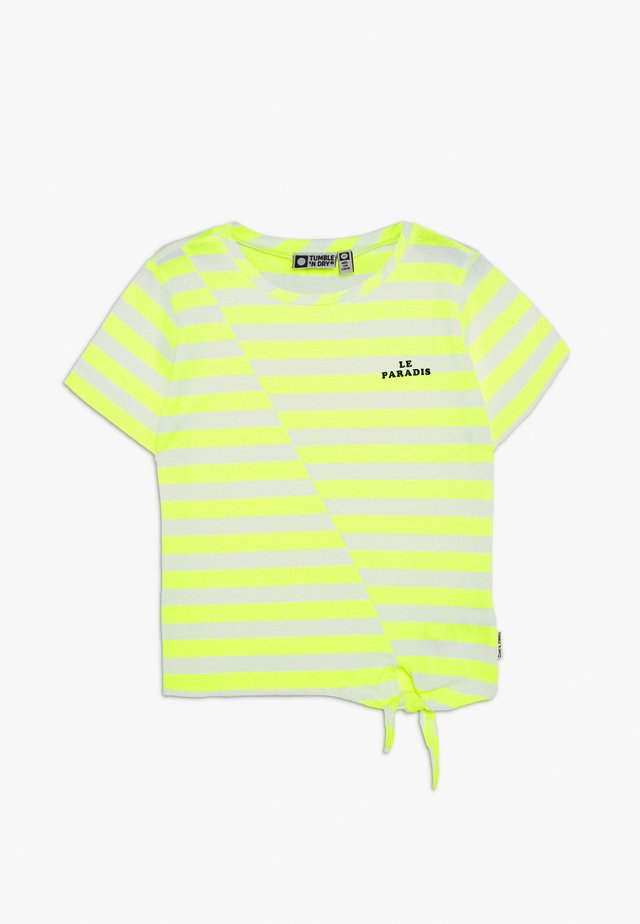 SADIA - Print T-shirt - safety yellow
