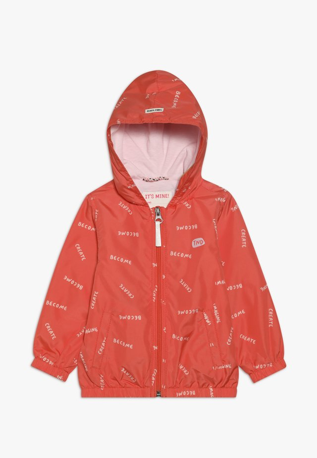 MACEY - Waterproof jacket - nasturtium