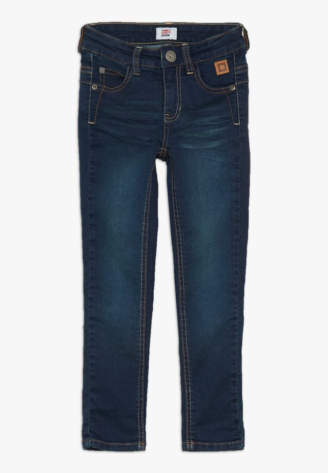 Slim fit jeans - denim medium used