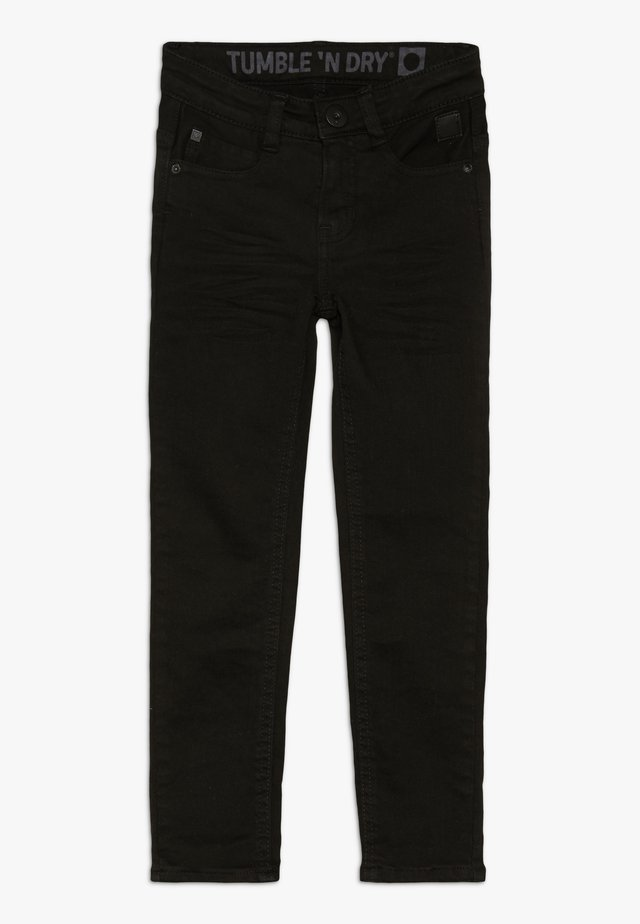 FRANC - Slim fit jeans - deep black