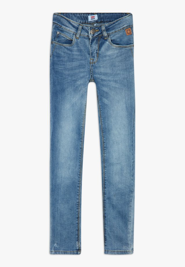 FRANC - Slim fit jeans - blue denim