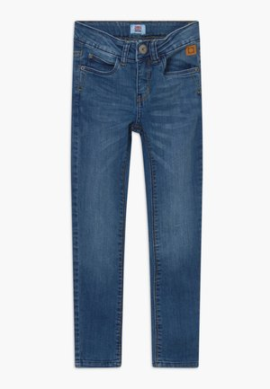FRANC - Slim fit jeans - denim mid blue