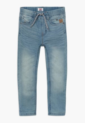 FLORENZ - Relaxed fit jeans - denim mid blue