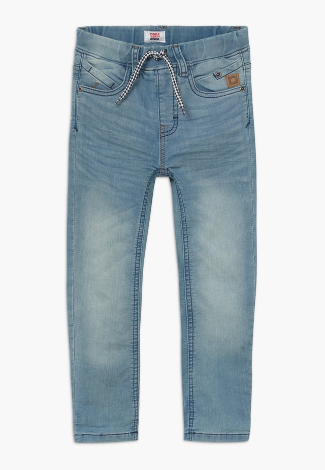 FLORENZ - Jeans relaxed fit - denim mid blue