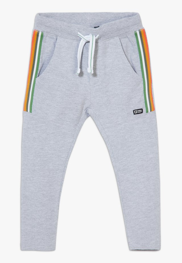 TRUNG ZGREEN - Tracksuit bottoms - light grey melange