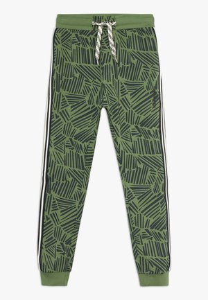 WALDEMAR - Tracksuit bottoms - vineyard green