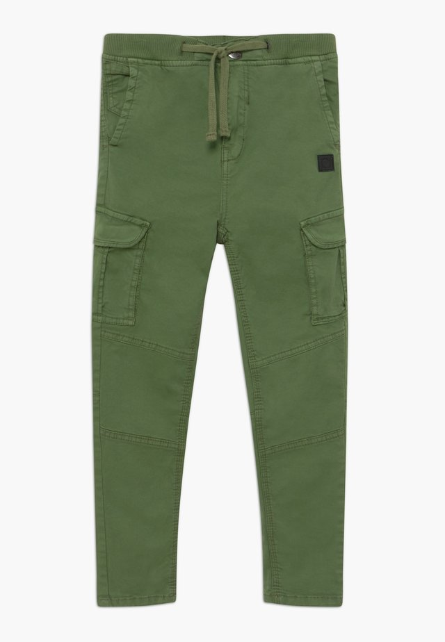 GERMALDO - Cargo trousers - vineyard green