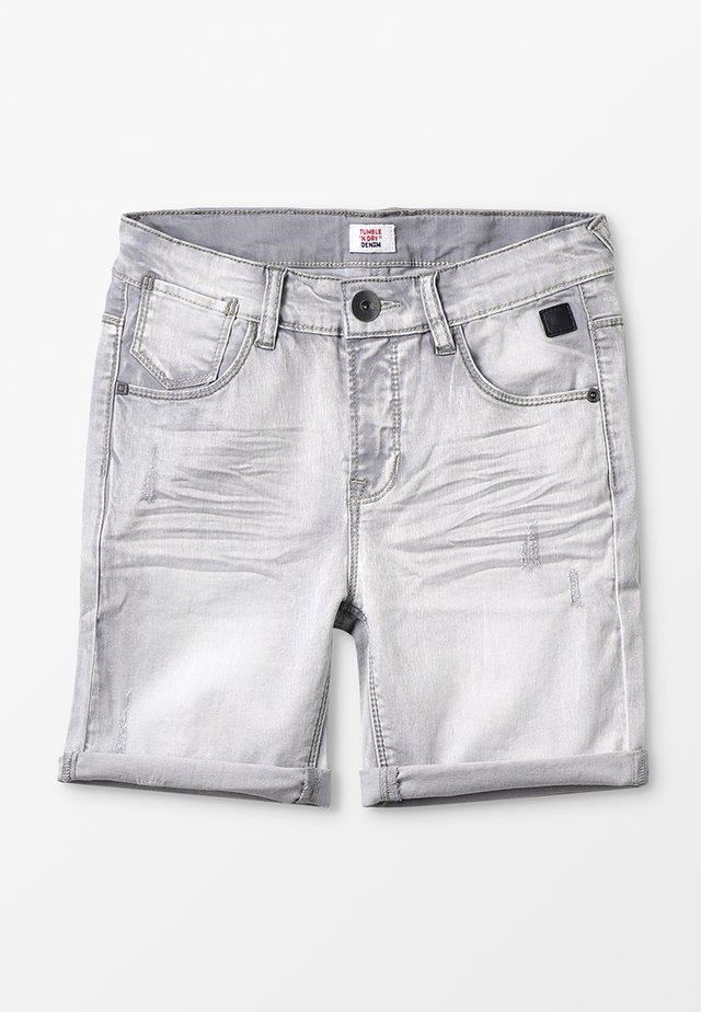 FENZO - Jeansshort - denim grey