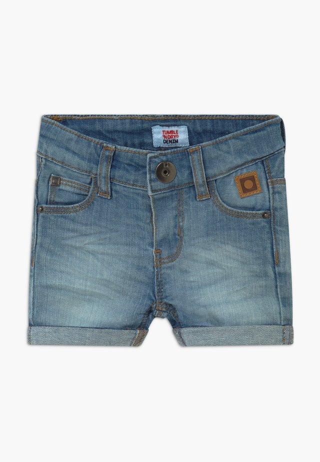 TIJAY - Jeansshort - light-blue denim