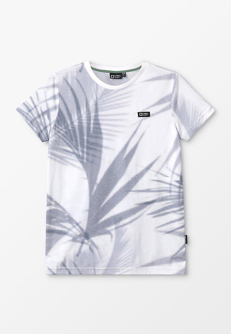 Tumble 'n dry - FERIT - T-Shirt print - white/ grey
