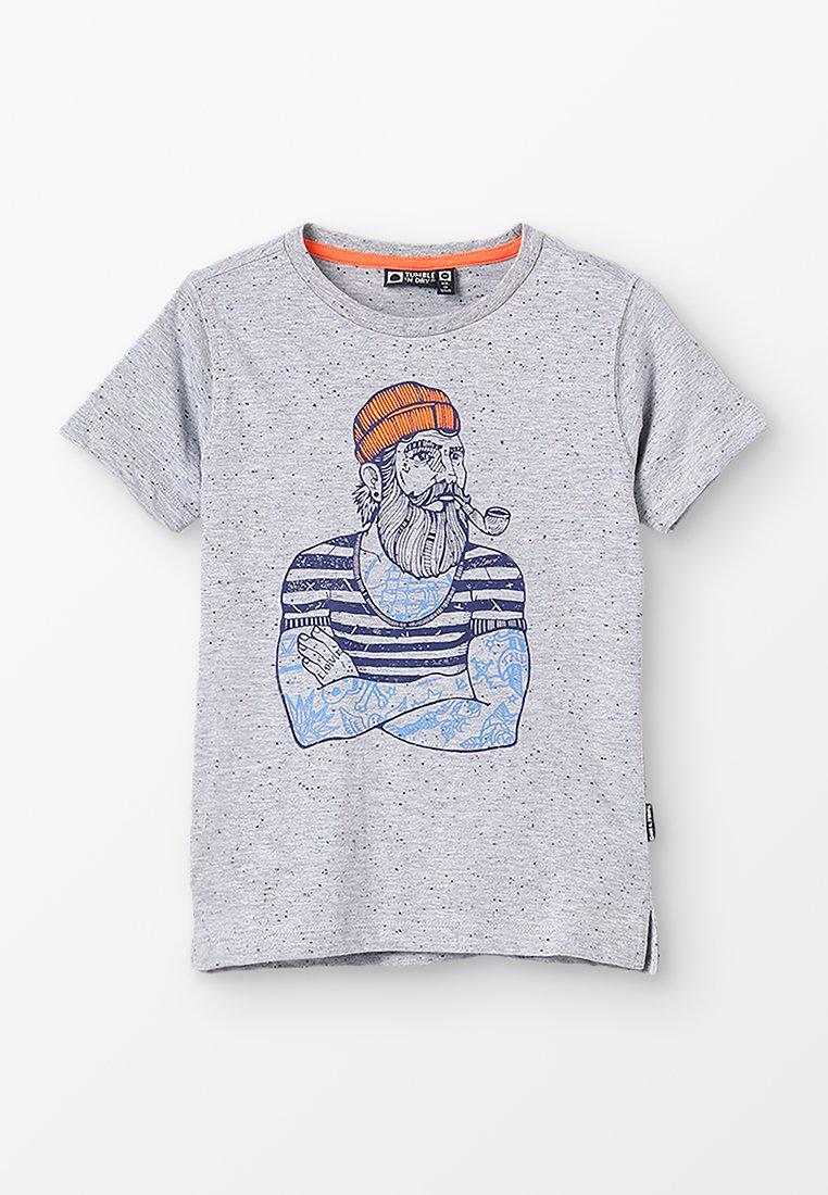 Tumble 'n dry - DEKATA - Camiseta estampada - grey melange