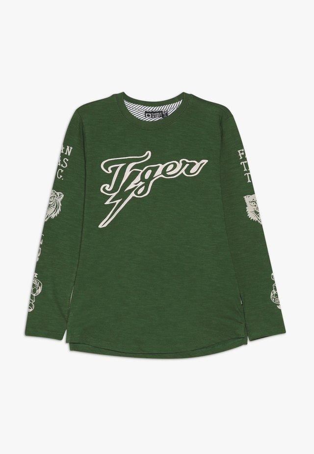 VITUS - Top sdlouhým rukávem - true green
