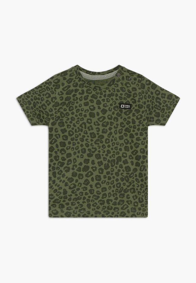 THIGO - Print T-shirt - vineyard green