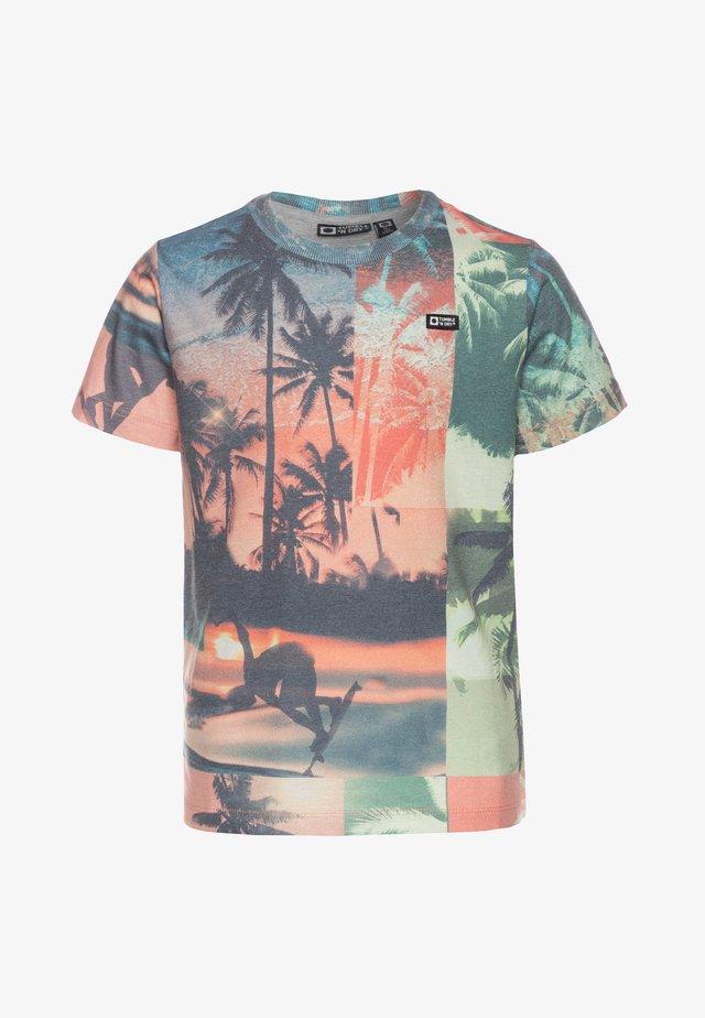 GWENDEL - T-shirt print - tigerlily