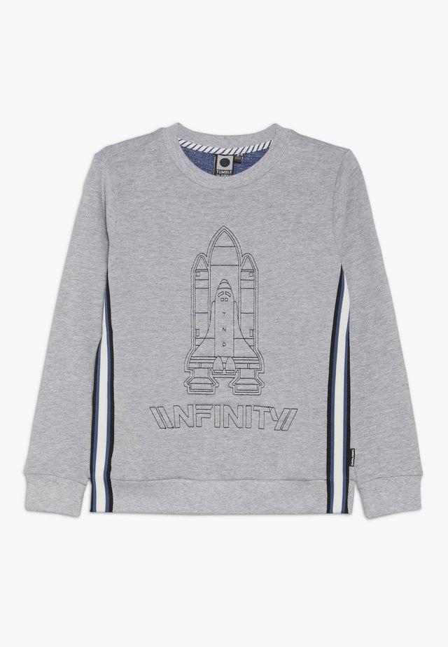 HUGH - Sweater - light grey melange