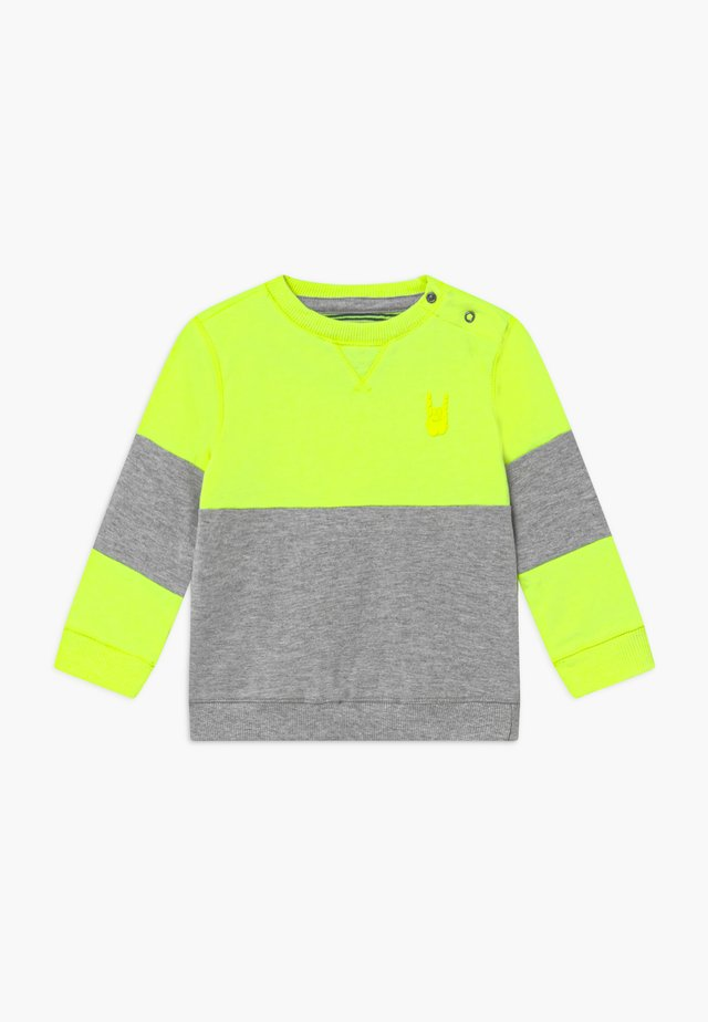 TOMAZ - Sweatshirt - safety yellow