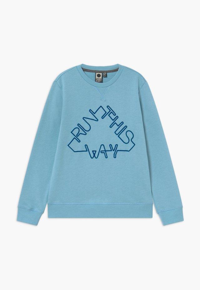 WILKINS - Sweater - light steel blue