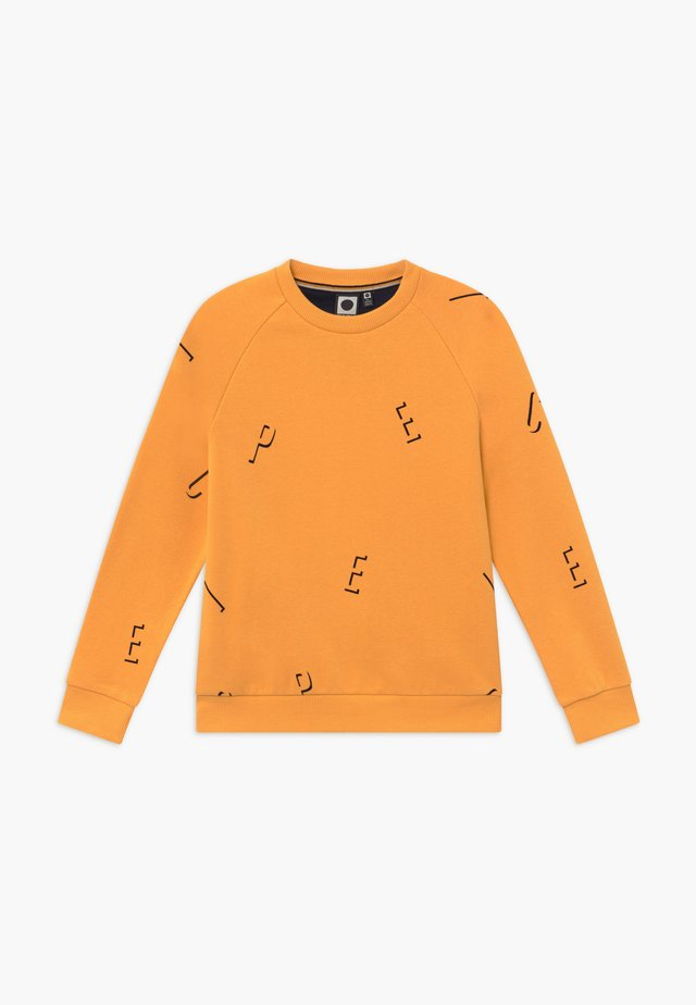 GRANT - Sweater - cadmium yellow